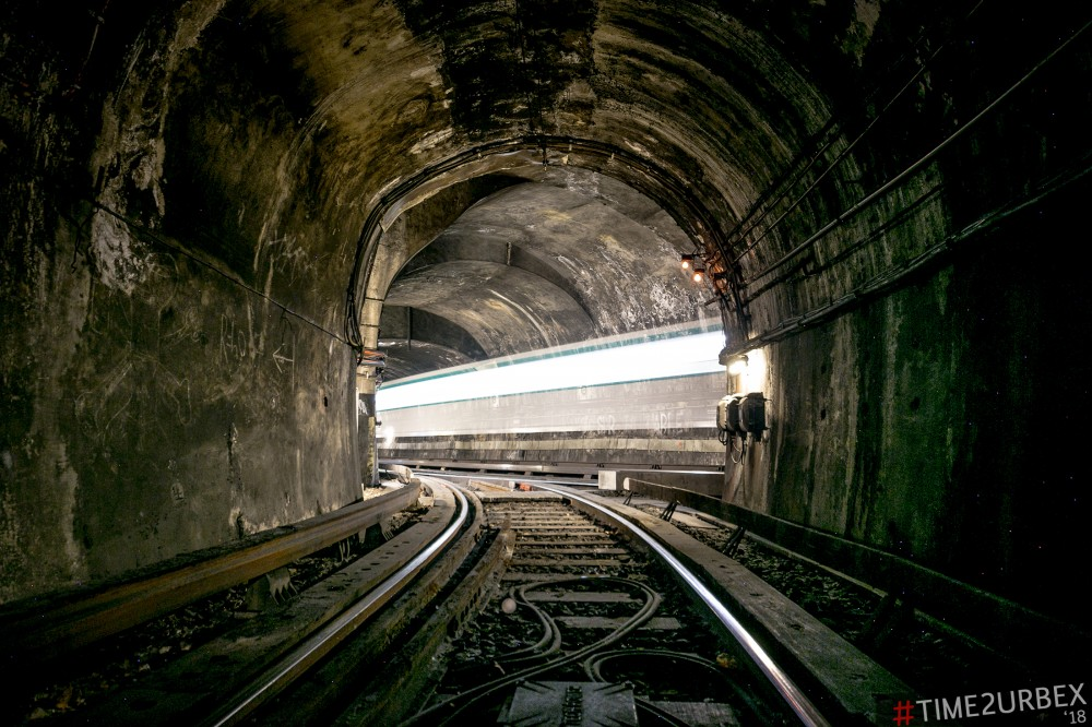 18 7 GHOST STATIONS OF THE PARIS METRO AND HOW TO GET INTO THE ILLEGALLY + UNUSUAL TUNNELS + RER