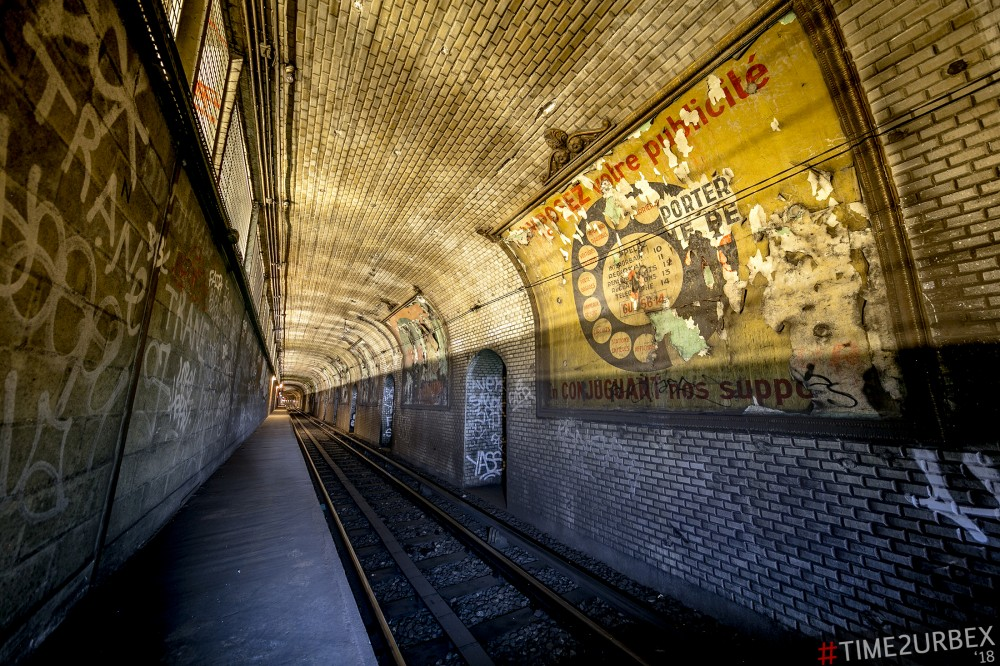 26 7 GHOST STATIONS OF THE PARIS METRO AND HOW TO GET INTO THE ILLEGALLY + UNUSUAL TUNNELS + RER