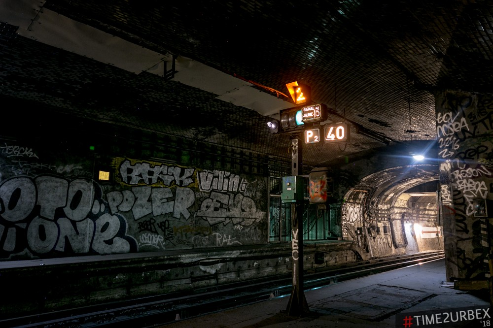 38 7 GHOST STATIONS OF THE PARIS METRO AND HOW TO GET INTO THE ILLEGALLY + UNUSUAL TUNNELS + RER
