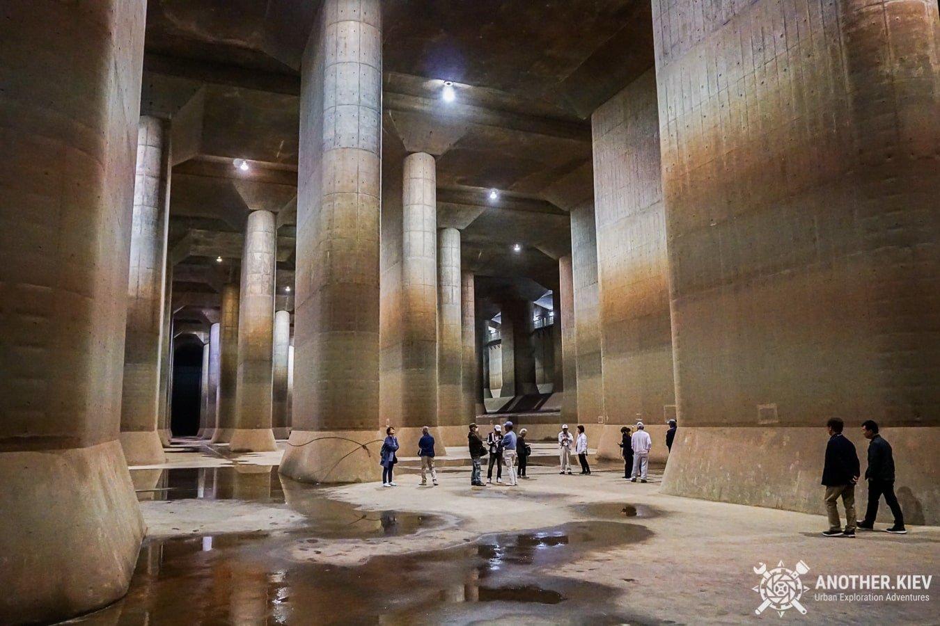 j-cans-urbex-tour-9-min Экскурсия в Токийский противопаводковый коллектор
