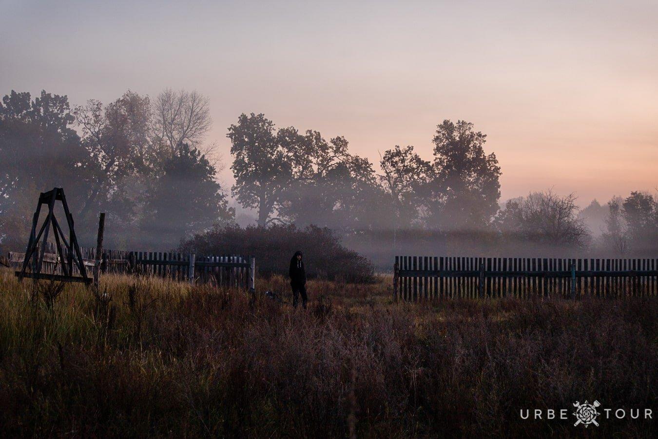 morning fogg in chernobyl