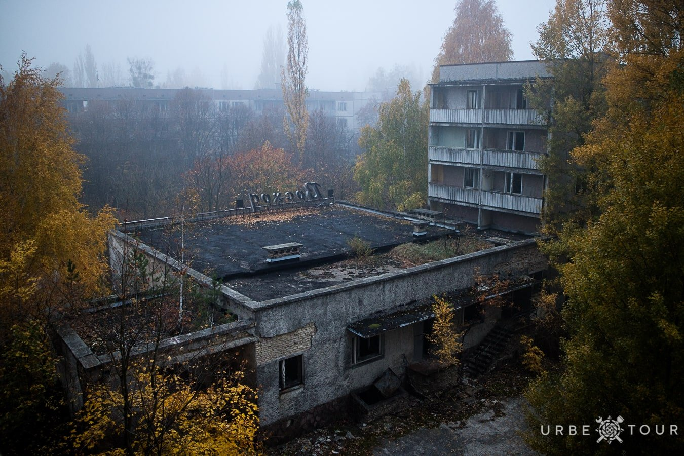 Rostok abandoned shop in Chernobyl