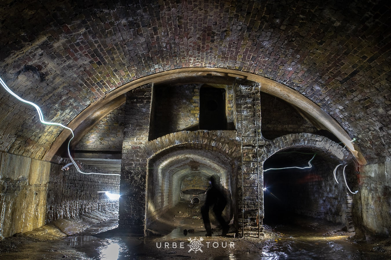 exploring sewers under london