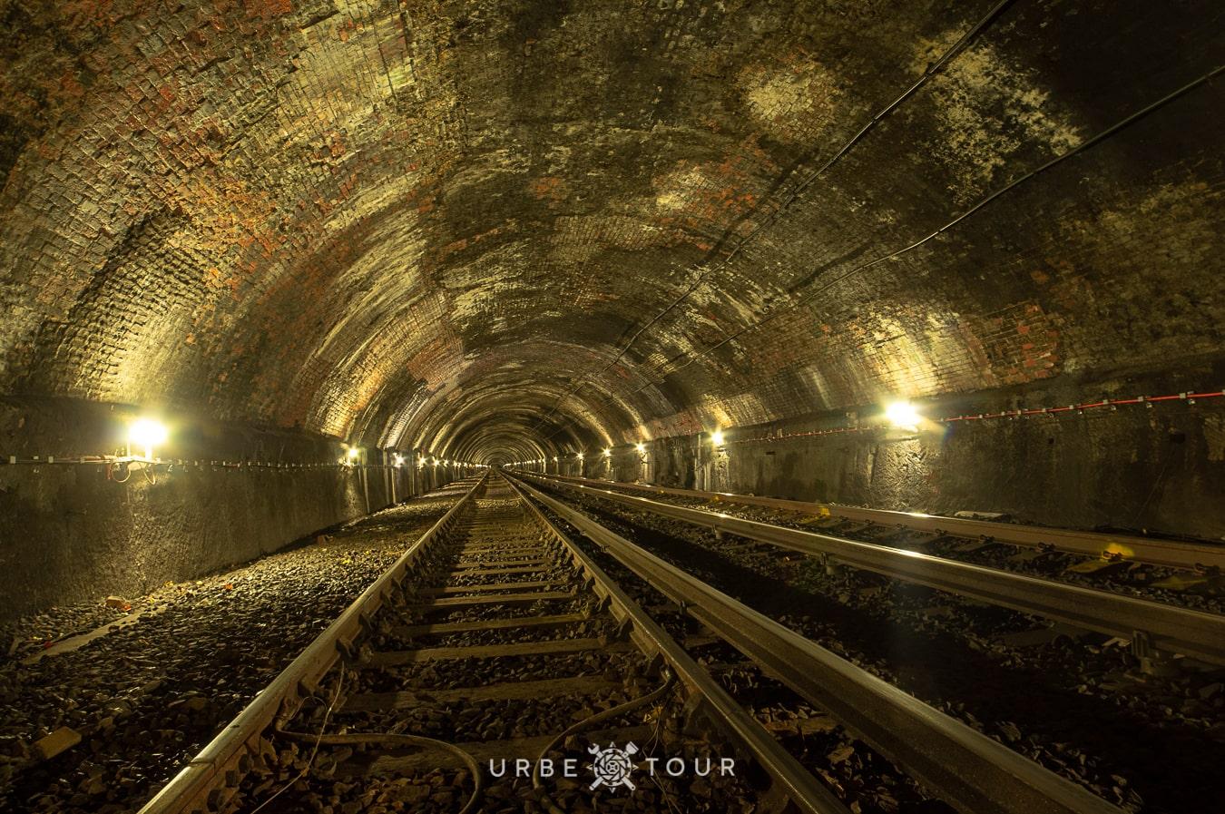 historycal tunnel of liverpool metro