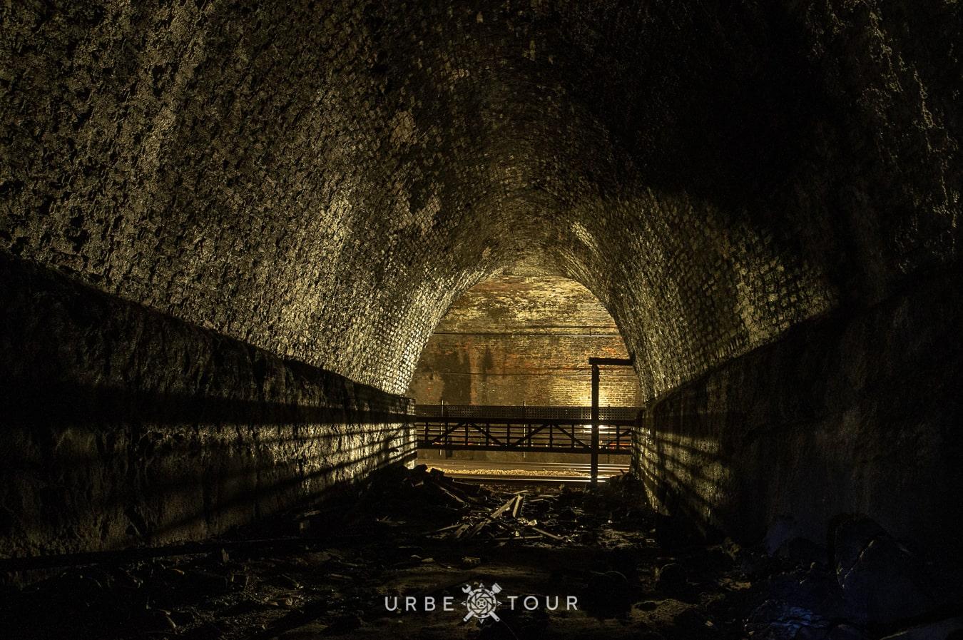 exploring tunnels of liverpool metro