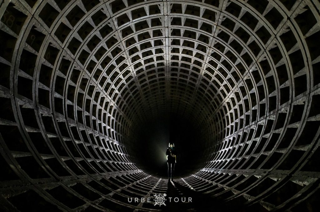 uncovered tunnel