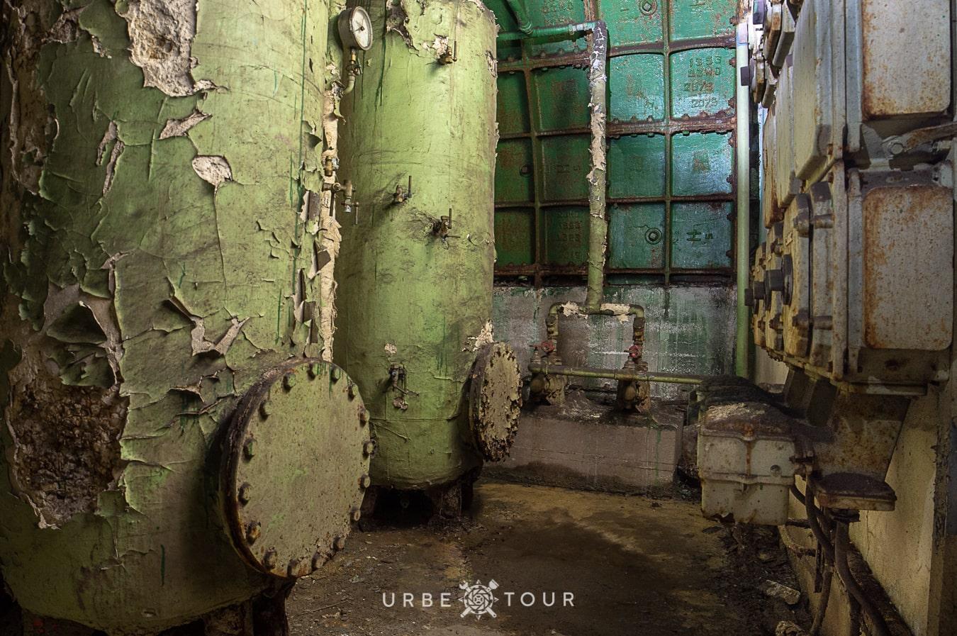 F-4-Rakosi-Bunker-budapest-17 Спецобъект Ф-4 - бункер коммуниста Ракоси в центре Будапешта