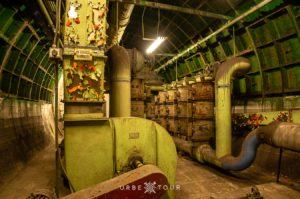 ventilation system in rakosi bunker