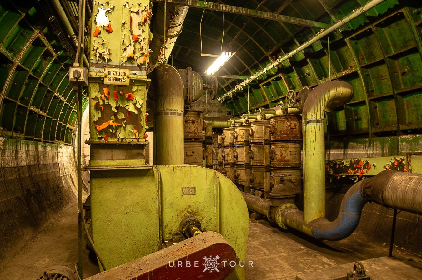 F-4-Rakosi-Bunker-budapest-7 Спецобъект Ф-4 - бункер коммуниста Ракоси в центре Будапешта