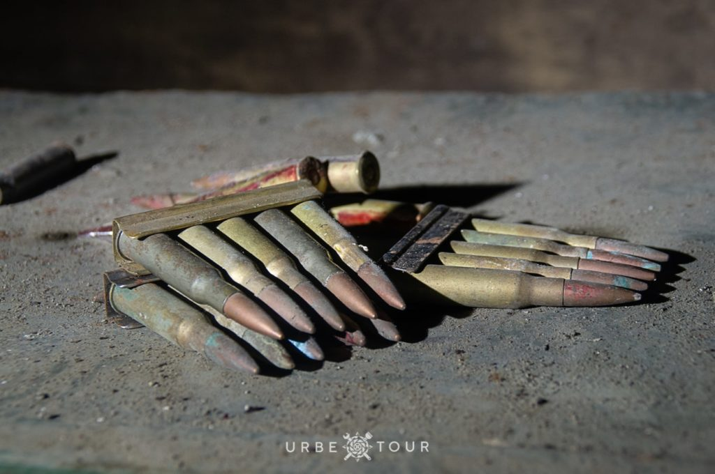 abandoned cartridges for rifles