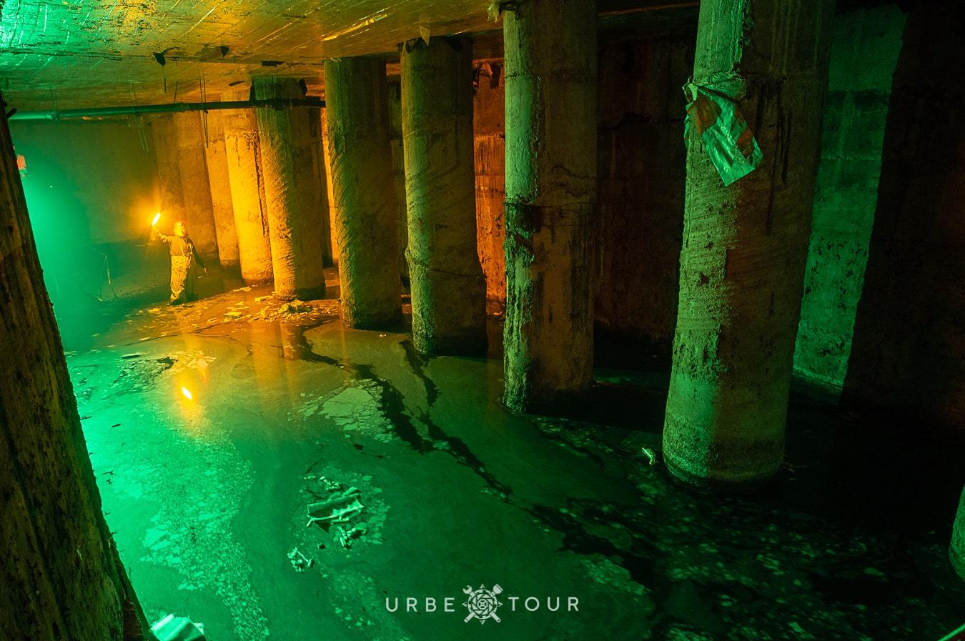 exploring skomoroh underground river in kiev