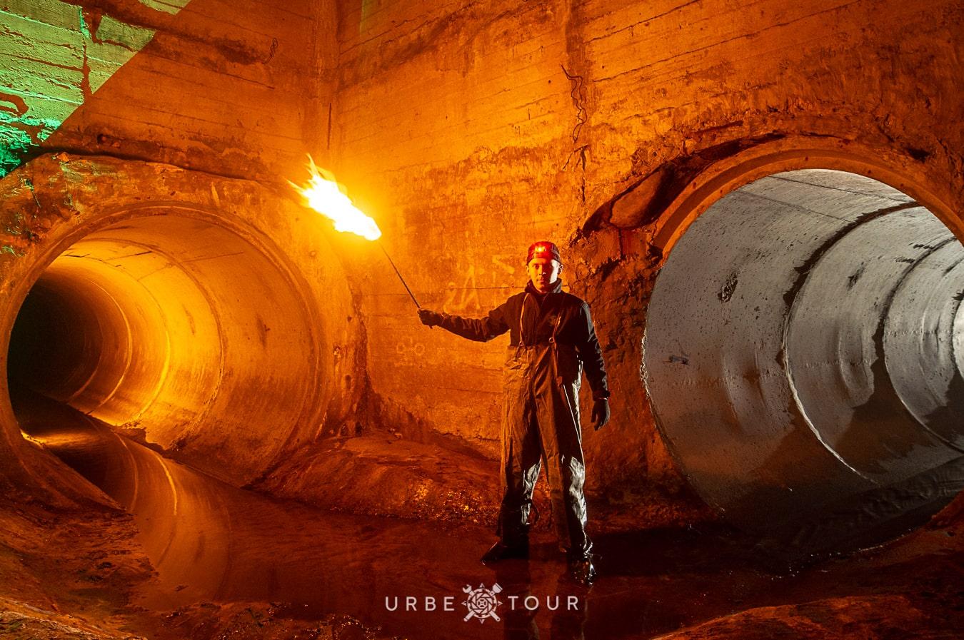 guide oleg exploring sewers under kiev