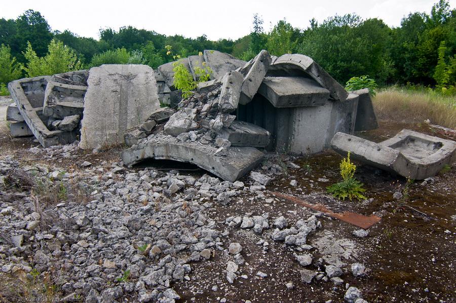 Бункер (объект 1180) в Молдавии
