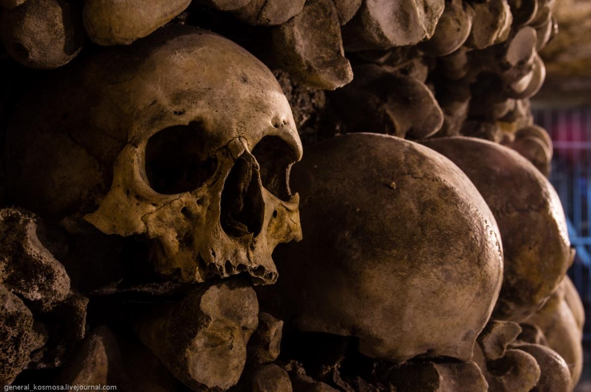 33257224 Парижские катакомбы: мертвые помнят все