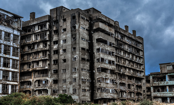3cf968058ccae78bb299880c691c9214 Post apocalyptic anthill of Hashima