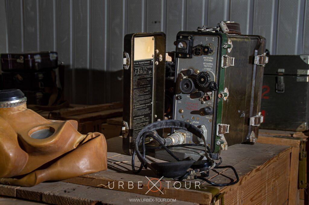 Оборудование связи в убежище ГО