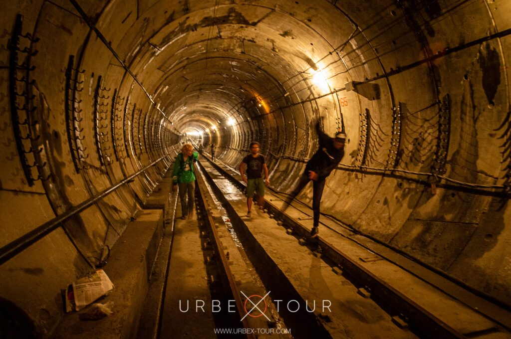 Exploring Metro tunnels in Kyiv