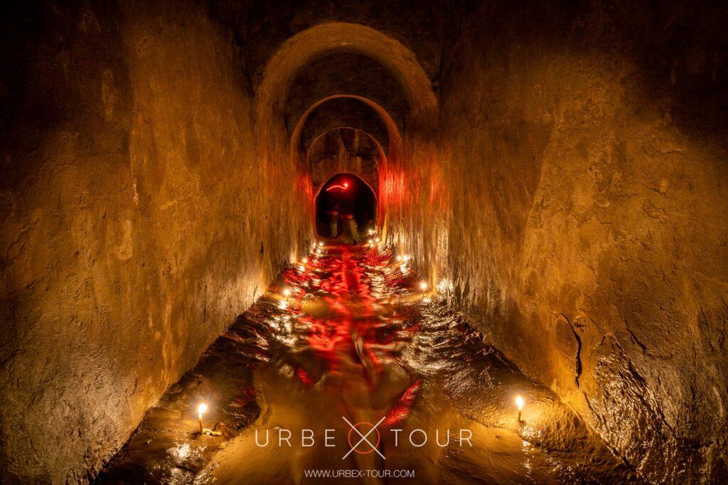 экскурсия в подземелья Киева