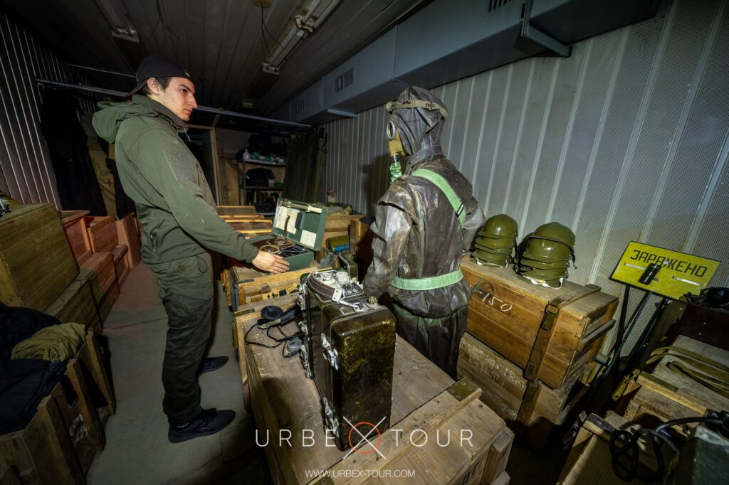 exploring cold war bunker with urbex guide