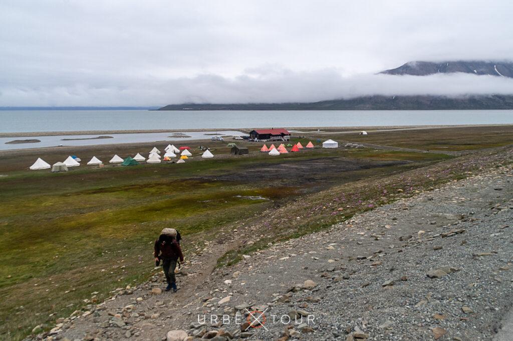 Camping at Longyearbyen