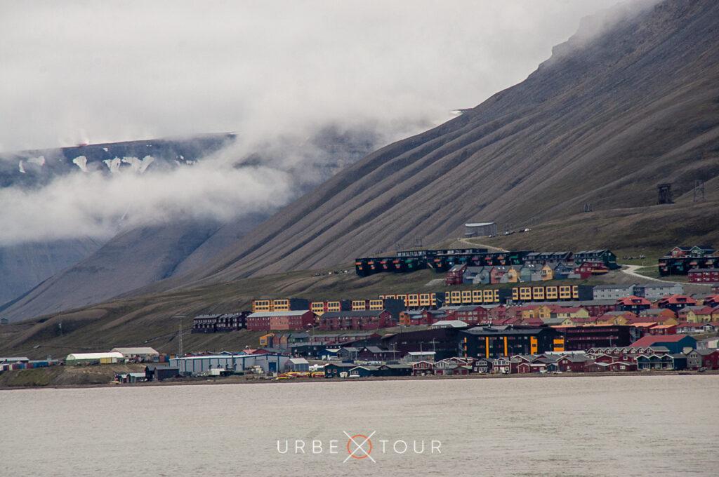 Panorama of Longyearbyen